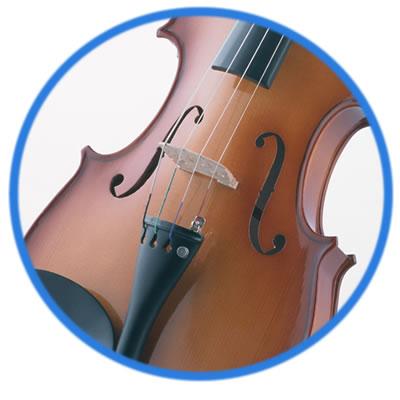 Violin, Viola, Cello